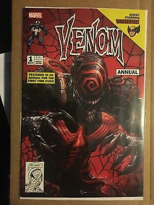 VENOM #1 ANNUAL CLAYTON CRAIN Variant COVER A IN STOCK OCT 2018 Marvel NM HOT!!!