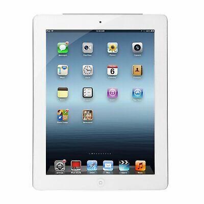 Apple iPad 4 4th Generation 16GB WiFi Unlocked White Grade A Excellent Condition