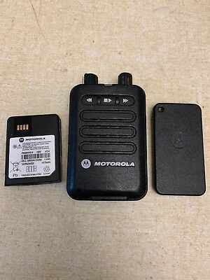 Motorola Minitor VI Two-Tone UHF Voice Pager 450-486 Mhz, (A04RAC8JA2AN)