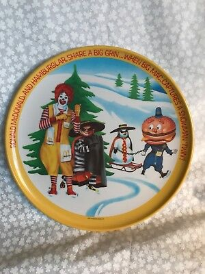 1977 Vintage McDonald plates, great condition, Lexington, Spring, Fall, WINTER