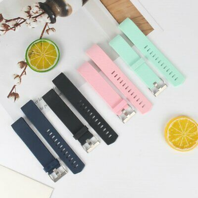 Replacement Silicone Watch Wrist Sports Band Strap For Fitbit Charge 2  CG