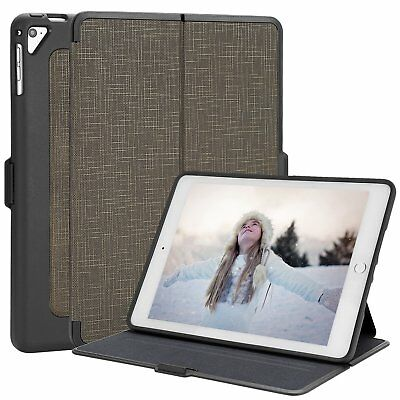 Kahki iPad Air 1st Gen for Apple Case Folio Leather Stand Smart Cover