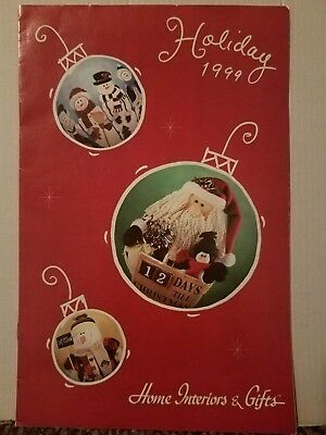 """Home Interiors and Gifts HOMCO Brochure Sales Catalog 1999 #99610-A 11""""×7"""""""
