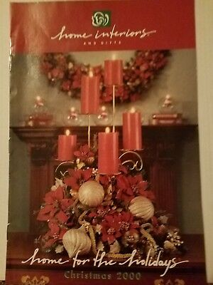 """Home Interiors and Gifts HOMCO Brochure Sales Catalog 2000 #99610-A 11""""×7"""""""