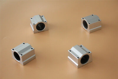 SCS12UU Linear Motion Ball Bearing CNC Slide Bushing 36mm Length 4pcs US