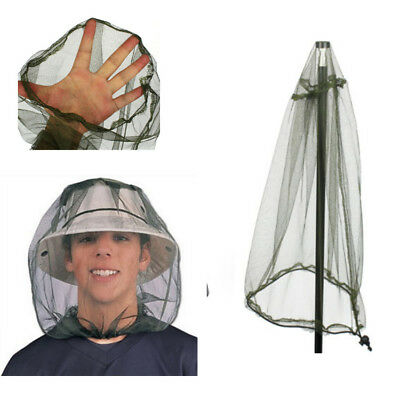 Mesh Net Hat Insect Travel Camping Head Mosquito Face NEW Bug Midge Protector
