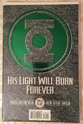 GREEN LANTERN #81 Deluxe Edition Cover Funeral of Hal Jordan DC 1996