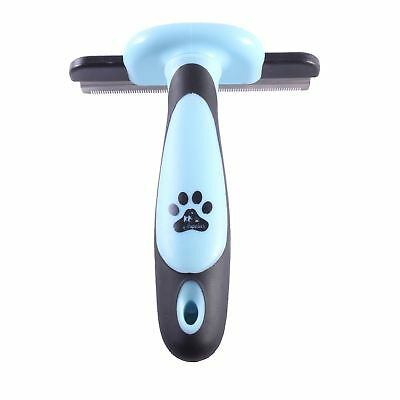 pet deshedding tool pet grooming brush 4 Inch for cats & dogs For small medium..