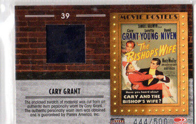 Cary Grant And The Bishops Wife  Swatch No39 444/500 Card