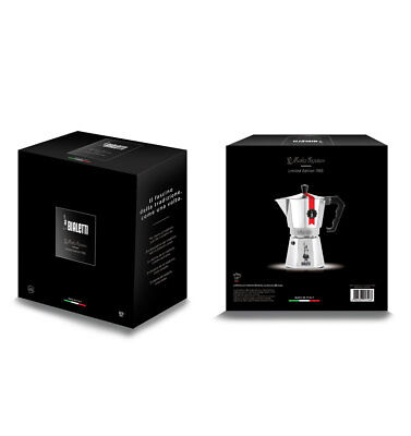Bialetti Caffettiera coffee maker Moka Express Superlucida Limited Edition