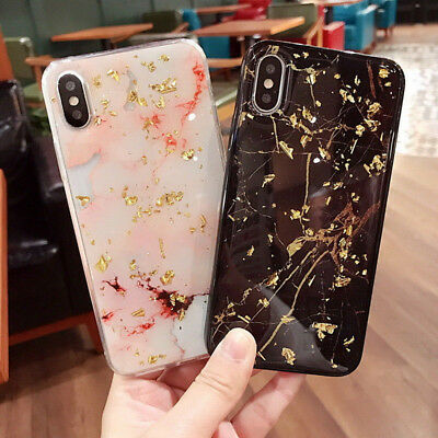 Luxury Marble Pattern Soft Gel Silicon TPU Case Cover For iPhone XS Max XR 8 7 6