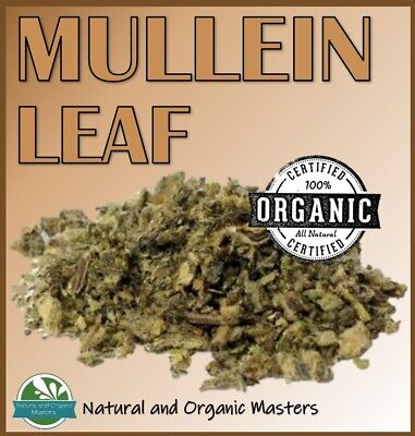 ✅Mullein Certified Organic Dried Herb / Tea / Lung Remedy - Premium Quality