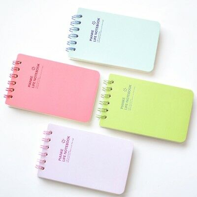 Cute Small Notebook Note Book Pad Plain Journal Jotter Diary Random Color Gift