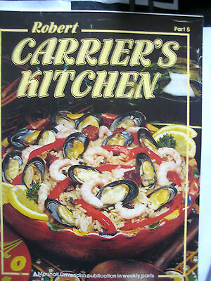 Robert Carriers Carrier's Kitchen Magazine Part 5 1981 Rare Vgc