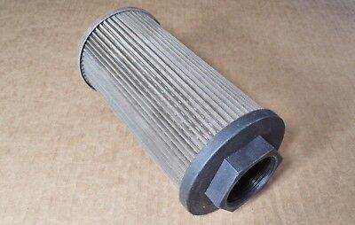 "NEW Vickers OF3-10-10 SS Hydraulic Strainer GPM 20 NPT 1-1/4"" Mesh 100 ~ 215240"