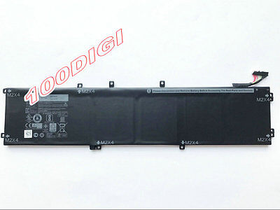 97Wh 6GTPY H5H20 Battery for Dell XPS 15 9560 9550 i7-7700HQ 15-9560-D1545 D1645