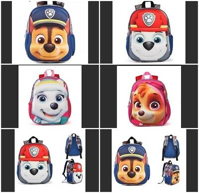 3D backpack PAW-PATROL boy/girl.Mochilas escolares infantiles.Different figures!