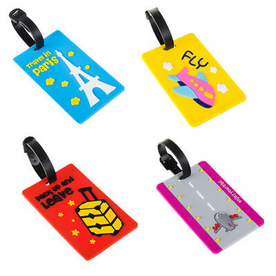 Portable ID Card Suitcase Label Luggage Secure Travel HOT Tag Luggage Large