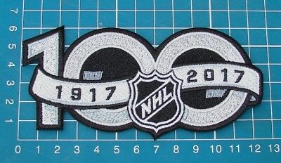 9bdfee49d National Hockey League NHL 100th Anniversary Centennial Hockey Jersey Patch  Embr