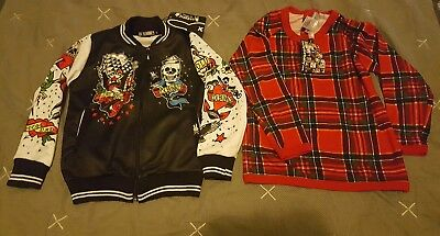 Rock Your Baby Top and Six Bunnies Jacket BNWT size 4