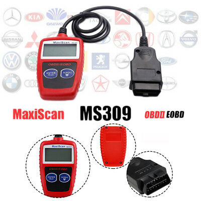 Universal Code Reader OBD2 EOBD CAN DTC Car Engine Error Diagnostic Scanner Tool