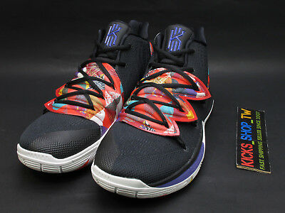 2019 Nike Kyrie 5 Ep Cny Chinese New Year Uncle Drew Black Multi Ao2919-010
