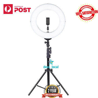 """14"""" LED Ring Light with Stand Dimmable LED Lighting Kit Makeup Live for Phone Ca"""