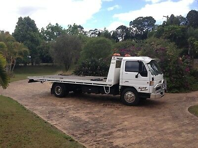Mazda T4600 Turbo Diesel Tilt Slide Tow Truck 5.2m Tray - LR Licence required