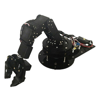 Aluminium Alloy 6 Axis Robot Robotic Arm Claw Gripper Kits High Torque Servo