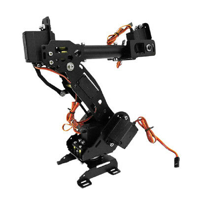Aluminium Alloy 7 Axis Robot Robotic Arm Claw Gripper Kit High Torque Servo