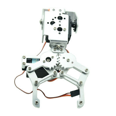 Metal 2 DOF Robotic Mechanical Arm Claw Gripper Kit with Servo For Arduino