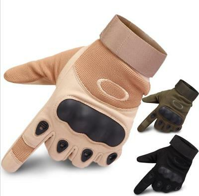 Tactical Hard Knuckle Gloves Mens Army Military Combat Airsoft Shooting Hunting