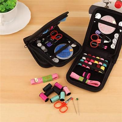 Thread Threader Needle Tape Measure Scissor Sewing Home Travel Kit New YI