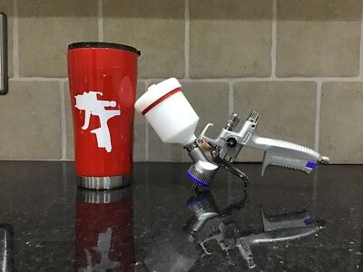 sata spraygun thermal drinking tumbler