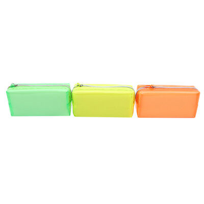 Transparent Lovely Pen Case Painting Brush Storage Case Students Stationery N7