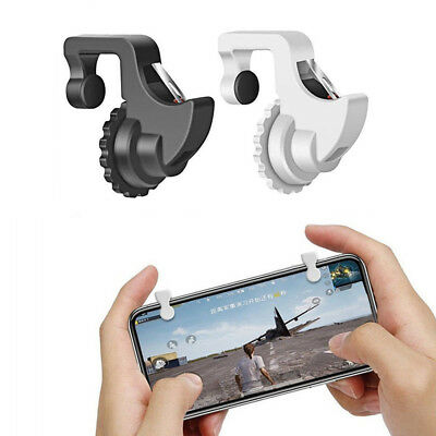 2x PUBG Mobile Controller Gamepad Phone Gaming Trigger For IOS Android iPhone
