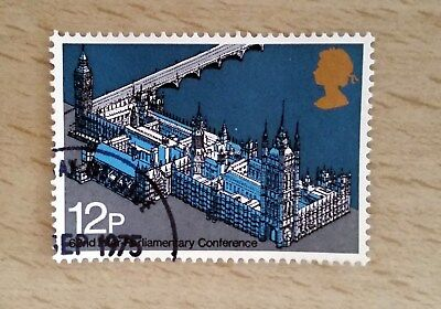 GB QEII Comm. Stamps. 1975 (SG988) 62nd Inter-Parliamentary Conference. From FDC