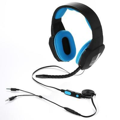Badasheng Wired Gaming Headset For PS4 Xbox One PC MAC Ipad Tablet Phone 3.5mm