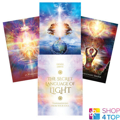 The Secret Language Of Light Cards Deck By Denise Jarvie Us Games Systems New
