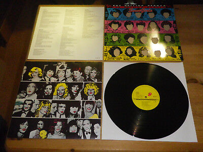 """THE ROLLING STONES: Some Girls, GIMMIX, + INSERT, GER, 1978, 12""""/ LP, MINT!!"""