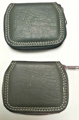 Genuine Leather Gents Small Tray Purse Wallet Gents for change and Notes