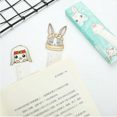 30Pcs/box Cute Rabbit Bookmark Kawaii School Stationery Book Page Holder YI