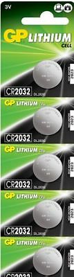 GP Lithium Cell CR2032 Motherboard Battery 5 pack