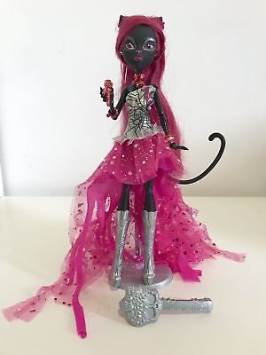Monster High Catty Noir 13 Wishes Doll VGC