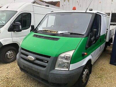 Ford Transit DOUBLE CAB TIPPER 115 T350L  Spares or Repairs