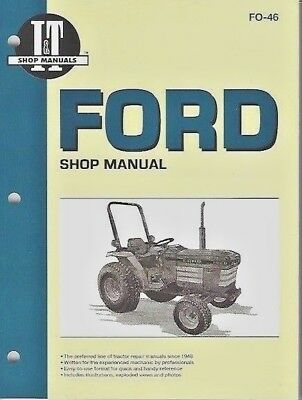 Ford 1120, 1220, 1230, 1520, 1720, 1920 & 2120 TRACTOR WORKSHOP MANUAL