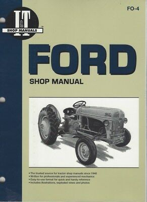 Ford 2N 8N & 9N Tractor Workshop Manual