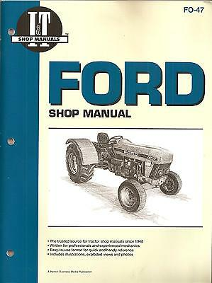 Ford 3230, 3430, 3930, 4630, 4830 Workshop Manual