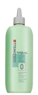 GOLDWELL TOPform Prerming lotion difficult to perm natural hair #0 500ml
