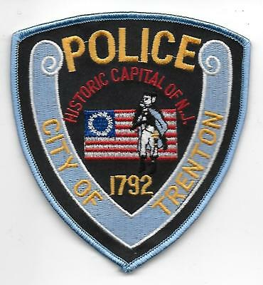 ecusson POLICE USA TRENTON  us police patch